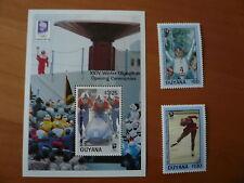 Guyana Olympia 1994 Lillehammer Mi 4232 - 4233 ,  Bl. 289  postfrisch