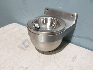 "NEW "" EX-CELL 640 SS"" WALL MOUNTED 1Q STAINLESS STEEL ASH URN TRAY WITH HARDWARE"