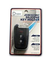 Genuine Silicon Smart Key Holder Case 1P For 2010 2011 2012 Hyundai Santa Fe