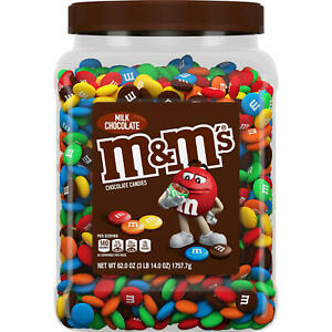 M&M'S Milk Chocolate Bulk Candy Jar (62 oz.) FREE SHIPPING