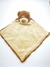 Personalised Baby Comforter snuggle Blanket, Cubbies  BEAR , New Baby birth Gift