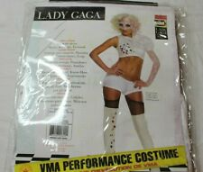 Lady Gaga Video Music Awards Performance Outfit, White,Standard Size Costume New
