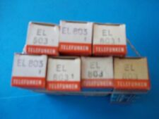 Vacuum Tubes - TELEFUNKEN  EL803   4 PC   NOS / NIB  Diamond bottom (3 offers)