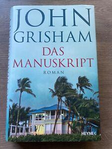 Das Manuskript von John Grisham, neuwertig