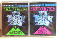 Original Twilight Zone Audio Book Boxed Set of 2- Cassette Sets- SEALED