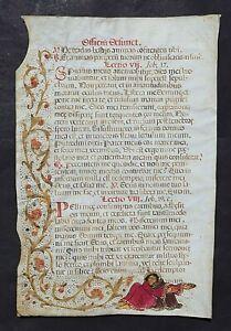 MISSALE,LITHURGISCHE HANDSCHRIFT,PERGAMENT,INITIALIEN,SPANIEN,UM 1510,SELTEN