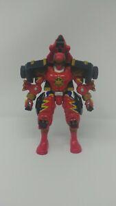 2003 Bandai Power Rangers Dino Thunder Red Ranger Centrasaurus Figure Only