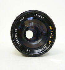 MITAKON MC 80-200MM F4.5 MACRO MD MOUNT LENS