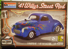1941 Willys Street Rod, 1:25, Revell USA 4909