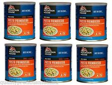 6 - # 10 Cans - Pasta Primavera - Mountain House Freeze Dried Emergency Food