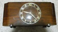 1940's Vintage Art Deco Junghans Era Kienzle Chiming Mantel Clock - not working