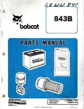 Bobcat 843b Skid Steer Loader Parts Manual
