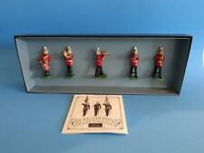 MI-599 - Band of the Life Guards Set #2 (5 figures) - Britains 00157 - 54mm Meta