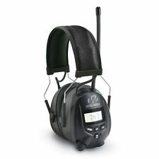 Walkers Hearing Protection Over Ear AM/FM Radio Earmuffs with Display   GWP-RDOM