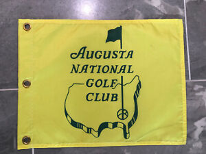 Augusta National Golf Club Members Souvenir Flag 2021 Masters Tiger Woods PGA