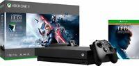 Microsoft - Xbox One X 1TB Star Wars Jedi: Fallen Order Deluxe Edition Console