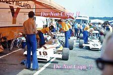 Yardley McLaren F1 Team Paddock area British Grand Prix 1972 fotografia 2