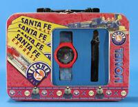 Lionel Santa Fe Tin Box w/ Watch & Whistle #LLB03
