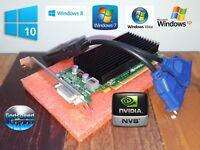 Dell Inspiron 5675 3847 3668 3656 3650 NVS 300 Dual VGA Monitor 512MB Video Card