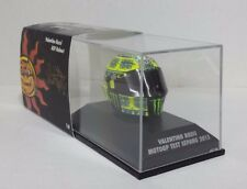 Casco Rossi moto GP test Sepang 2015 1/8 Minichamps
