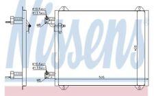 NISSENS Condensador, aire acondicionado AUDI A2 94584