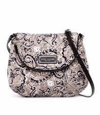NWT Marc Jacobs Quilted Paisley Gray Multi Nylon Crossbody Shoulder Bag Purse
