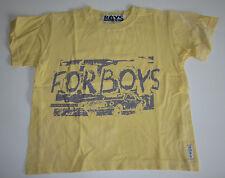 *PAMPOLINA BOYS* T-Shirt ca. Gr. 110-116 * gelb mit Druck * For Boys *