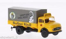 """MB L322 PP """" DI BERLINO Bock Kindel """", H0 AUTO MODELLO 1:87, BREKINA 47028"""