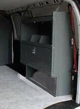 Van Shelving Unit with Door - Space Saver - Ford Transit Connect - 38Lx44Hx13D
