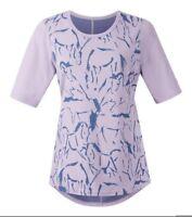 Kerrits Equestrian Women's Cool Down Tech Tee Shirt Elbow-Length Sleeves