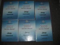 2008 JEEP COMMANDER Service Workshop Repair Shop Manual Set OEM Factory OEM