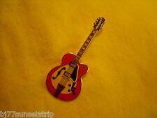 Gibson Super 400 / Baked Enamel Guitar pin // Made of Metal, Super detail
