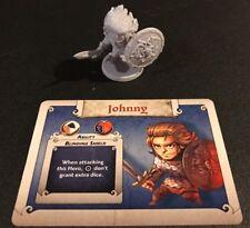 JOHNNY - Arcadia Quest Inferno Kickstarter Exclusive Hero