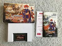 Fire Emblem Binding Blade Sword Fuuin no Tsurugi GameBoy Advance GBA JP ver CIB