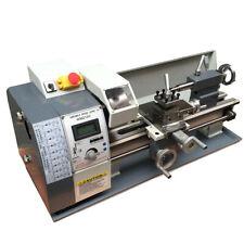 "8""x16"" Precision Inch Thread Metal Lathe Brushless Motor Bench Turning Machine"