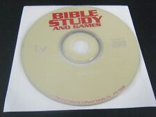 Best of Bible Study and Games (PC, 1996) - Disc Only!!!