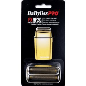Babyliss Pro Replacement Foil Double Foil Head for FoilFX02 Gold Shaver #FXRF2G