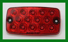 Maxxima Low Profile 14 Red LED Stop Turn Tail Light Lamp M42206R