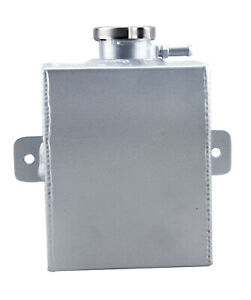 1.2L Universal Aluminum Coolant Radiator Overflow Expansion Tank Performance SL