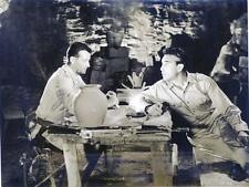 """BACK TO BATAAN""-ORIGINAL PHOTO-JOHN WAYNE-ANTHONY QUINN"