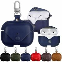 For Airpods Pro Headphone Leather Earphone Protective Case Cover Storage Bag Box