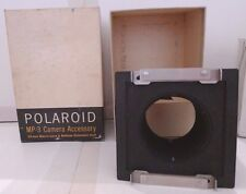 Polaroid MP-3 Land Camera Special 35mm Macro Lens & Bellows Extension Unit +Box
