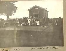 PHOTO CHALET OUVERTURE DE LA CHASSE 1921