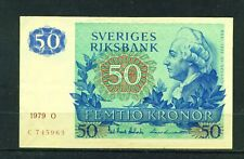 More details for sweden  - 1979 50 kronor circulated banknote