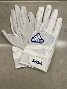 Kris Bryant Game Issued Batting Gloves Adidas Player Giants PE Chicago Cubs XL
