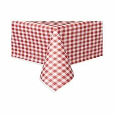 Checked & Gingham Rectangular Table Cloths