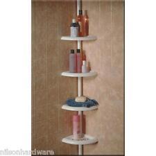 Shower Tub Corner Shelf Caddy Bathroom Soap Organizer 2pk