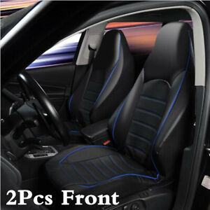 Onwards Titan Waterproof Car Front Seat Covers to fit Fiat Qubo 2009 Blue