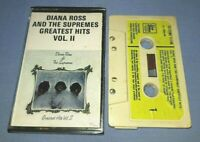 DIANA ROSS & THE SUPREMES GREATEST HITS VOL II cassette tape album T6926