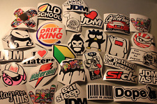 5 Random Lot JDM Car Stickers/Decals Pack/Set Sticker bomb fatlace stance euro